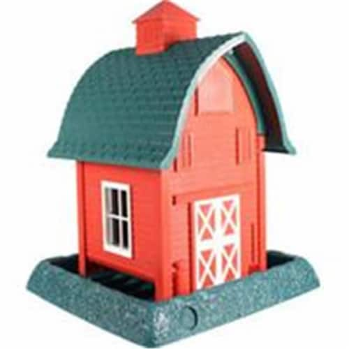 North States Industries Barn Bird Feeder - 5 lbs. Perspective: front