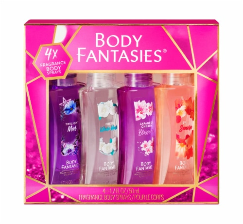 Body Fantasies Body Spray Set Perspective: front
