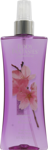 Body Fantasies Japenese Cherry Blossom Body Spray Perspective: front