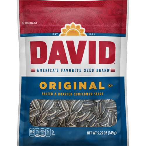 David Original Sunflower Seeds Perspective: front