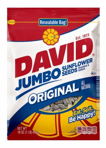 David Jumbo Original Sunflower Seeds Perspective: front