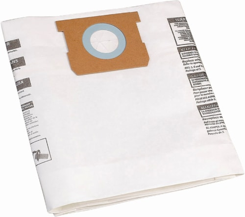 Shop-Vac Disposable Collection Filter Bags Perspective: front