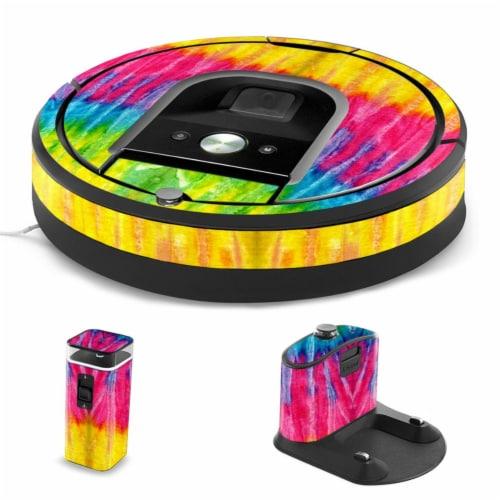 MightySkins IRRO960-Tie Dye 2 Skin for iRobot Roomba 960 Robot Vacuum, Tie Dye 2 Perspective: front