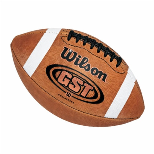 Wilson 3F1003 Wilson F1003 GST Game Football - Football Balls Leather Perspective: front