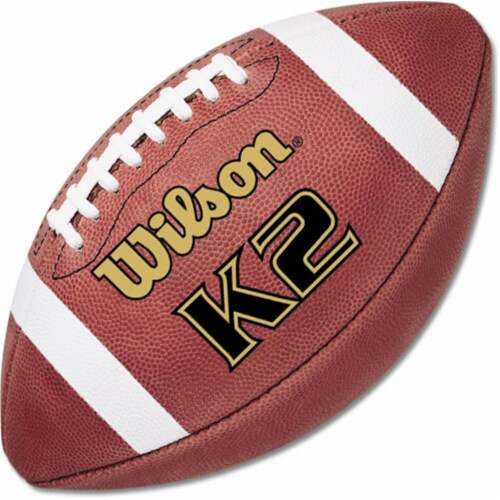 Wilson K2 PeeWee Game Football F1382 Perspective: front