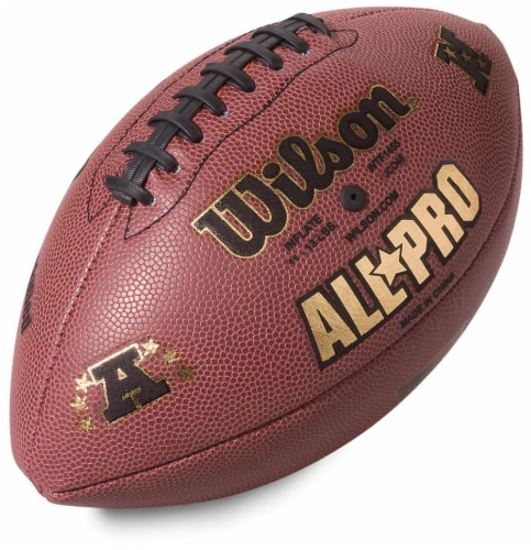 WILSON ALL PRO INFLATED AMERICAN FOOTBALL SENIOR SIZE READY TO USE NFL APPROVED
