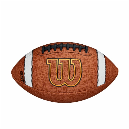 Wilson GST Composite Official Football Perspective: front