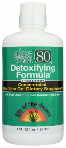Lily of the Desert Aloe Detox Formula Perspective: front
