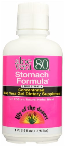 Lily of the Desert Stomach Formula Aloe Vera Perspective: front