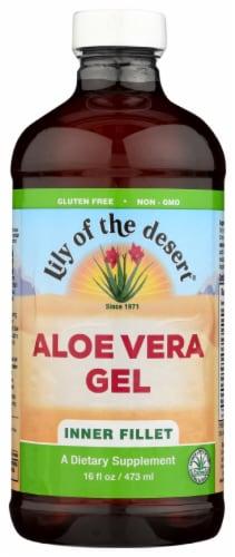 Lily of the Desert Inner Fillet Aloe Vera Gel Perspective: front