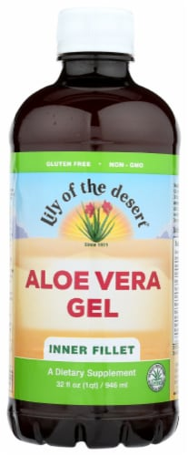Lily of the Desert Inner Fillet Aloe Vera Gel Perspective: front