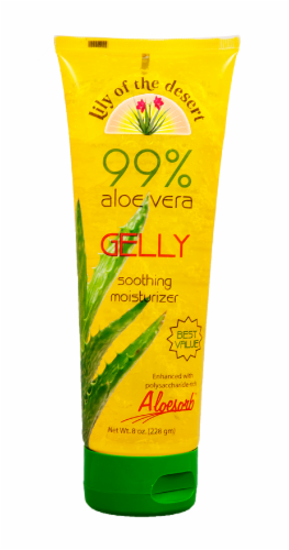 Lily of the Desert 99% Aloe Vera Gelly Moisturizer Perspective: front