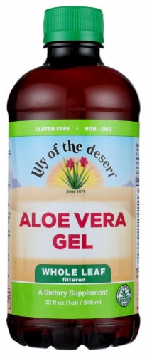 Lily of the Desert Whole Leaf Aloe Vera Gel Perspective: front