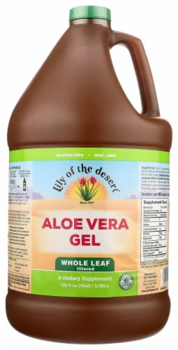 Lily of the Desert Whole Leaf Filtered Aloe Vera Gel Perspective: front