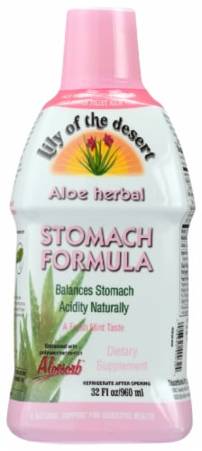 Lily of the Desert Aloe Herbal Stomach Formula Perspective: front