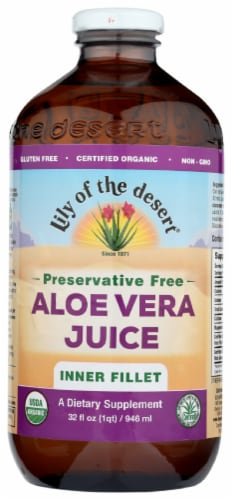 Lily of the Desert Aloe Vera Juice Perspective: front
