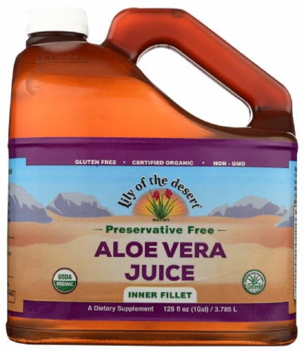 Lily Of The Desert Preservative Free Aloe Vera Juice Perspective: front