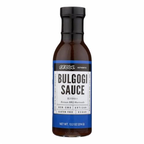 Seoul Bulgogi Sauce - Case of 6 - 13.2 OZ Perspective: front