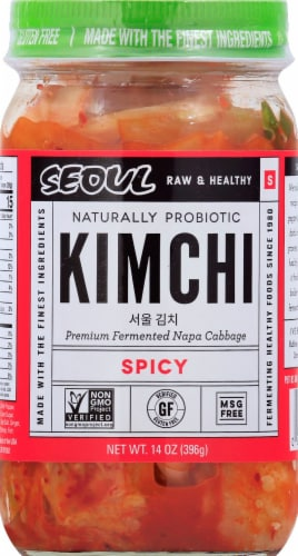 Seoul Spicy Kim Chi Perspective: front