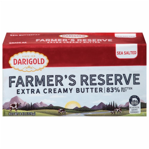 Darigold Farmer'sReserve Extra Creamy Butter Perspective: front