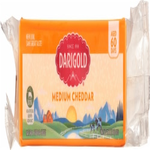 Darigold Medium Cheddar Cheese Perspective: front