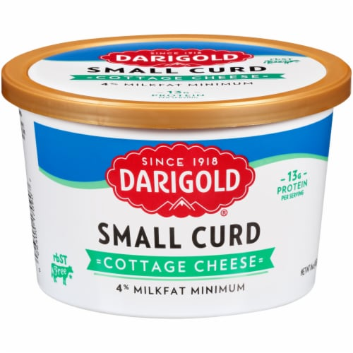 Darigold 4% Small Curd Cottage Cheese Perspective: front