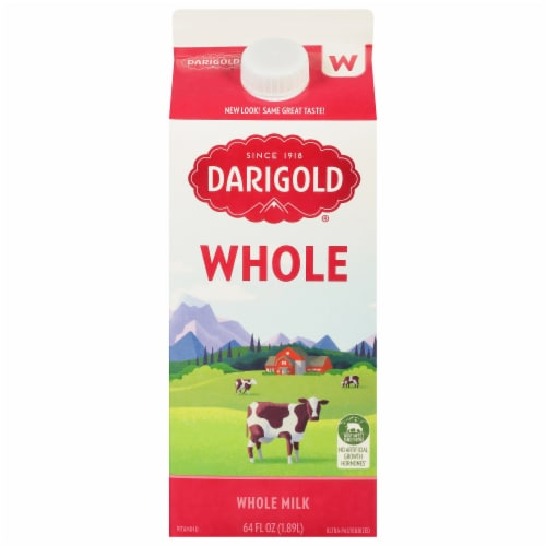 Darigold with Vitamin D Ultra-Pasteurized Whole Homogenized Milk Perspective: front