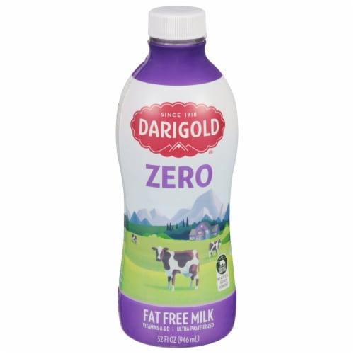Darigold Zero Ultra-Pasteurized Fat Free Milk Perspective: front