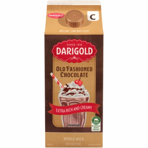 Darigold Old Fashioned Chocolate Milk Perspective: front