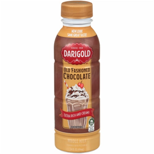 Darigold Old-Fashioned Chocolate Milk Perspective: front