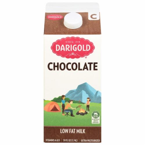 Darigold 1% Chocolate Milk Perspective: front