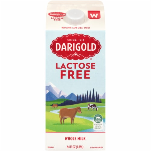 Darigold 100% Lactose Free Ultra-Pasteurized Whole Milk Perspective: front