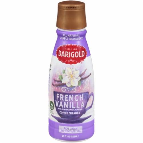 Darigold French Vanilla Coffee Creamer Perspective: front