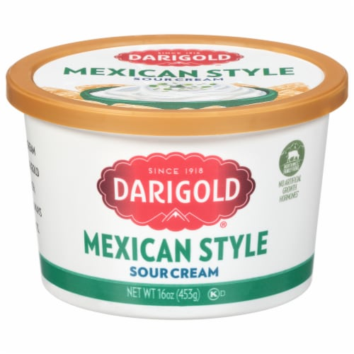 Darigold Mexican Style Sour Cream Perspective: front