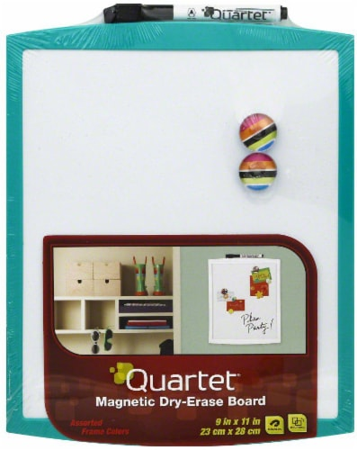Quartet Dry Erase Board - Assorted Perspective: front