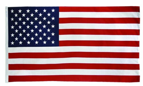 Annin Flagmakers Tough-Tex United States of America Flag Perspective: front