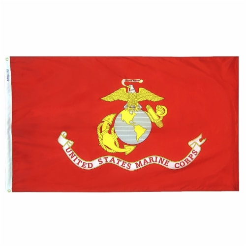 Annin Flags U.S. Marine Corps Military Flag Perspective: front