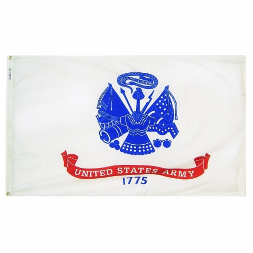 Annin Flagmakers U.S. Army Military Flag Perspective: front