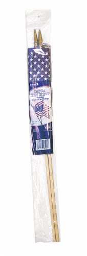 Annin Flagmakers American Hand Flag - 2 pk Perspective: front