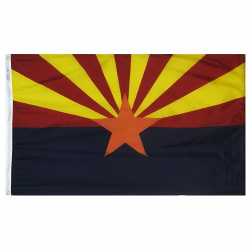 Annin Flagmakers Arizona State Flag Perspective: front