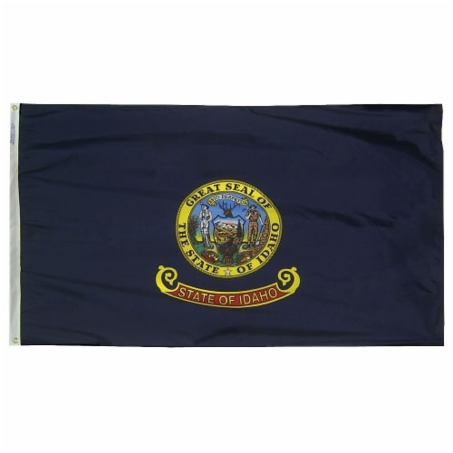Annin Flagmakers Idaho State Flag Perspective: front