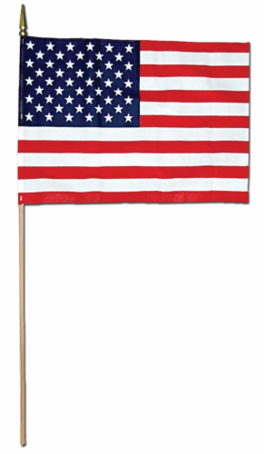 Annin Flagmakers American Hand Flag Perspective: front