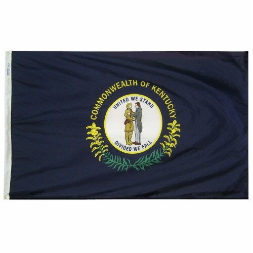 Annin Flags Nylon SolarGaurd Kentucky State Flag Perspective: front