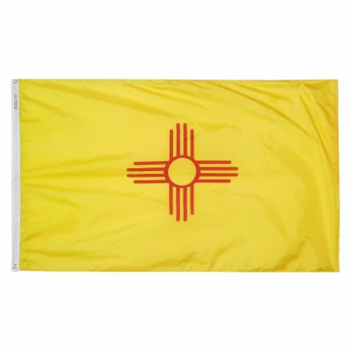 Annin Flagmakers New Mexico State Flag Perspective: front