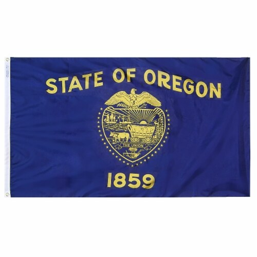 Annin Flagmakers Oregon State Flag Perspective: front