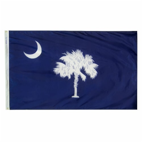 Annin Flags Nylon SolarGuard South Carolina State Flag Perspective: front