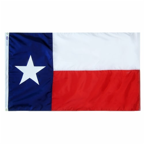 Annin Flagmakers Texas State Flag Perspective: front