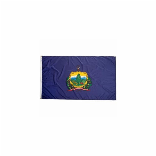 Annin Flags Nylon SolarGuard Vermont State Flag Perspective: front
