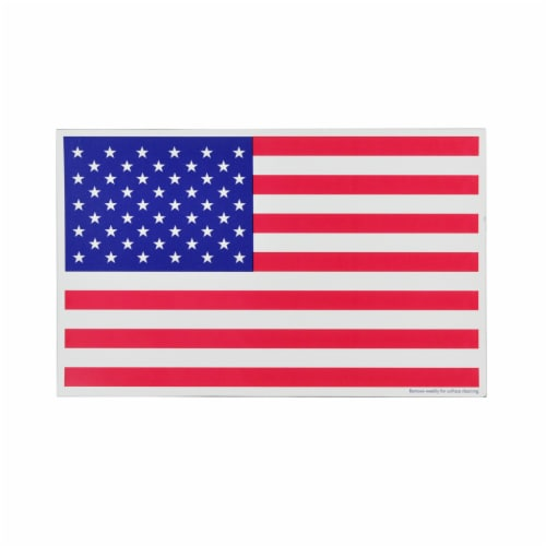 Annin Flagmakers American Flag Magnet Perspective: front