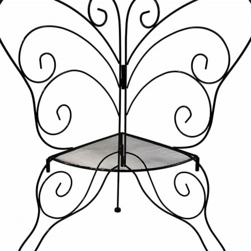 CobraCo BFPLNTST Decorative Butterfly Plant Stand Perspective: front